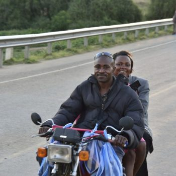 a nice couple !! uganda on the road-pictures by albi