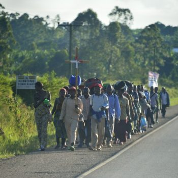 funeral walk: uganda on the road again-pictures by albi
