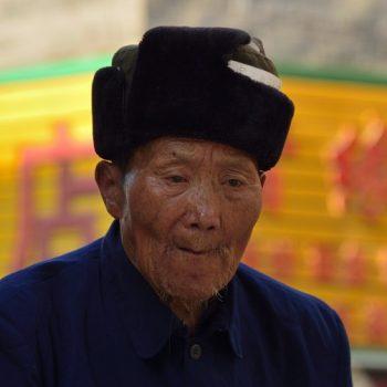 old man in fènghuang-nikon df