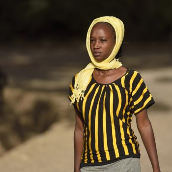 yellow and black-ready for the fashion week in ethiopia
