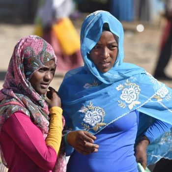 what's up: blue or red this year ? fashion week in ethiopia