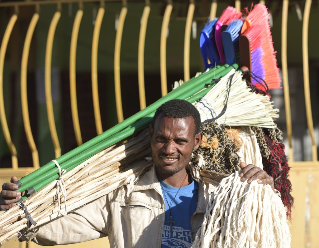 beautiful boys from ethiopia-a shop on his shoulder
