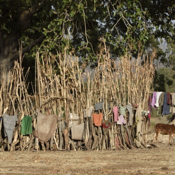 how to dry clothes-ethiopia: pictures by