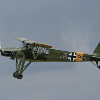 fieseler storch-meeting air at cerny-by albi-2015