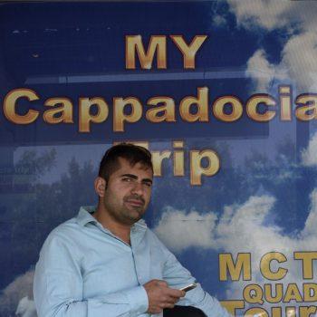 ballon driver in göreme-my cappadocia trip