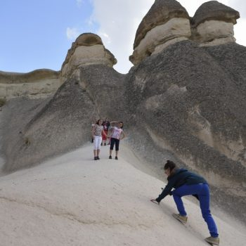 going to the top-cappadocia