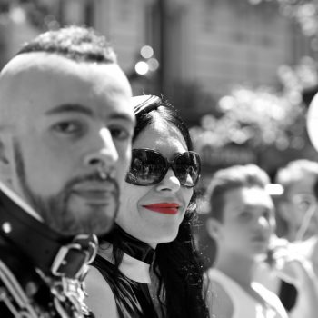 red lips.... pictures from the gay pride in paris by albi