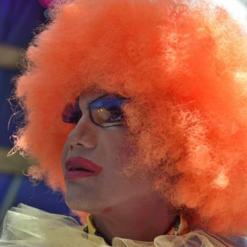 orange is the color... the gay pride- paris 2015 by albi