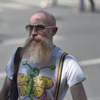 hipster at all ages ....... gay pride paris 2015