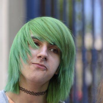 why not green ?? gay pride paris june 2015
