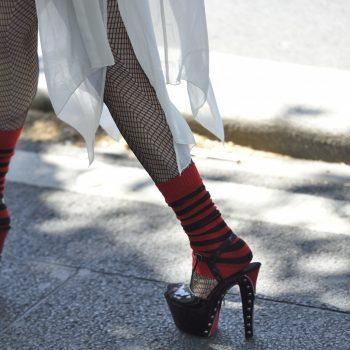 high heels forever.........gay pride paris june 2015