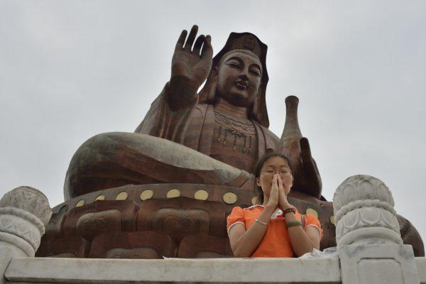 Guan Yin at Mount Xiqiao, Guangdong, China