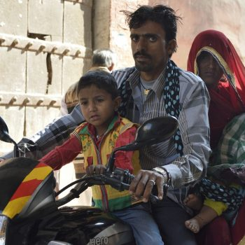 living india: a towel isn't a helmet, but who cares?