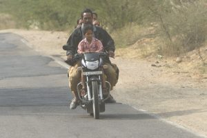 living india: six pack on two wheels