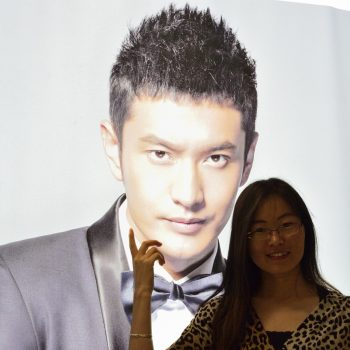suzanne and the star from china: xiaoming, huang