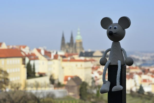 week-end in prague with fred the mouse