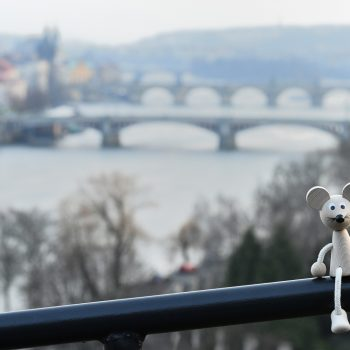 the river is called vltava, me i call it moldau