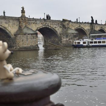 another view to charles bridge