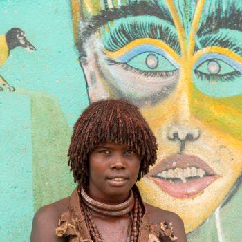 beautiful ethiopian ladies, street art in ethiopia