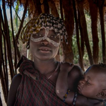 beautiful ethiopian ladies and mothers