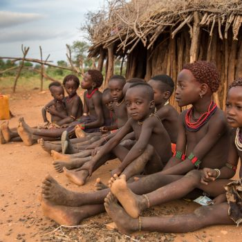 kids from ethiopia by albi- no shoes, no problems (almost)