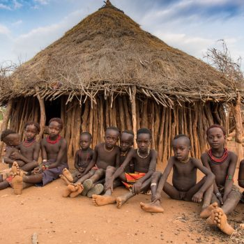 kids from ethiopia by albi