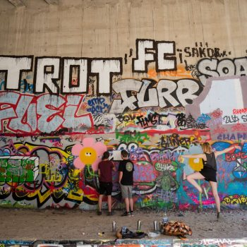 petite ceinture paris - by albi; some beers, a girls and let's make a new painting