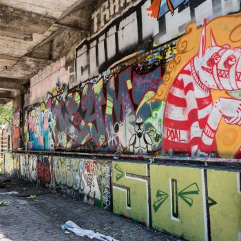 petite ceinture paris - by albi: two girls coming from nowhere