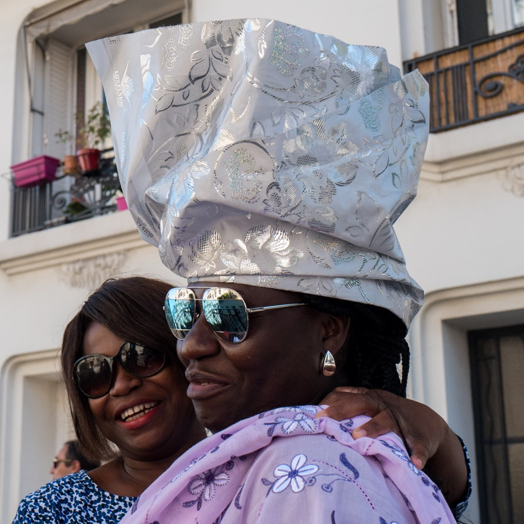 people from mali: her wedding at montmartre with leica q