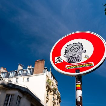 street art at montmartre with leica q