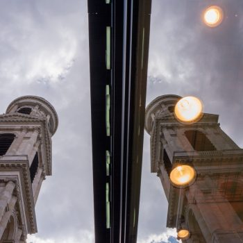 rue saint sulpice and the church - leica q