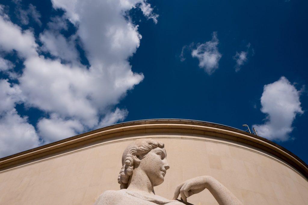 "outside of the ""palais de tokyo"" with leica q"