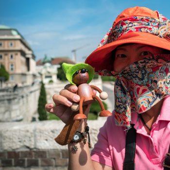 another terroriste? no: chinese touriste..hihi