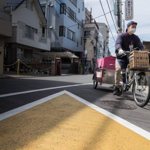 japan today seen by pictures by albi--street-graphic, passing the lines