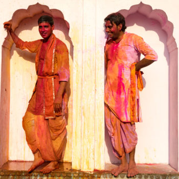 end of the day, holi is fun