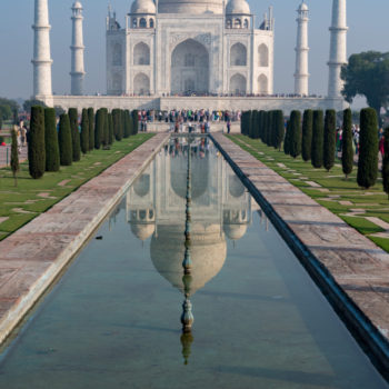 taj mahal-yes: taj mahal! my post-card !! by albi