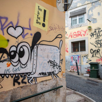 street art lisboa - seen with the eye of albi