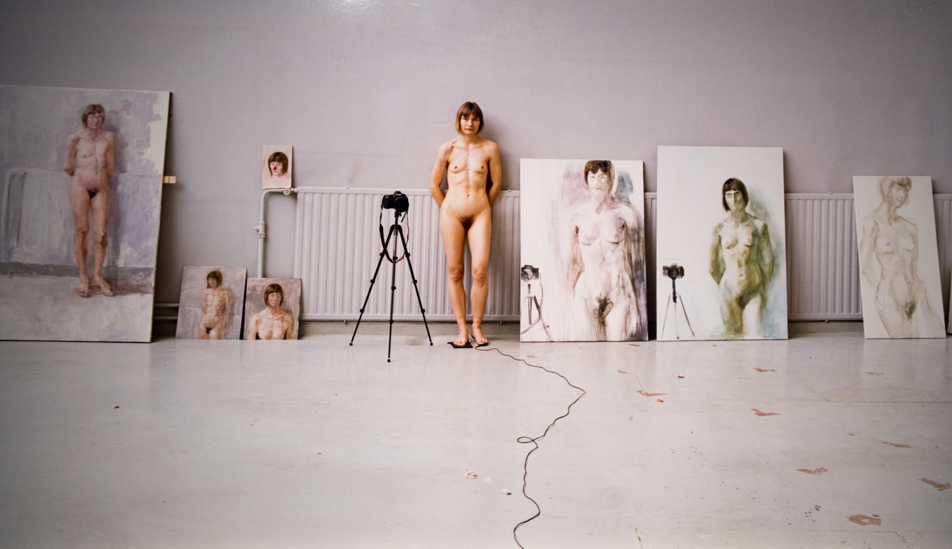 french artist exposition at hundertwasser house