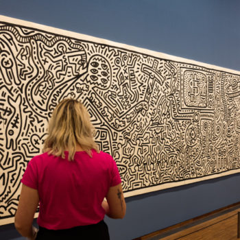 haring, new york..a friend of basquiat