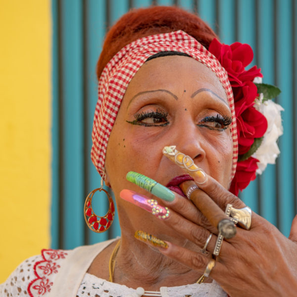 cuban lady in havana