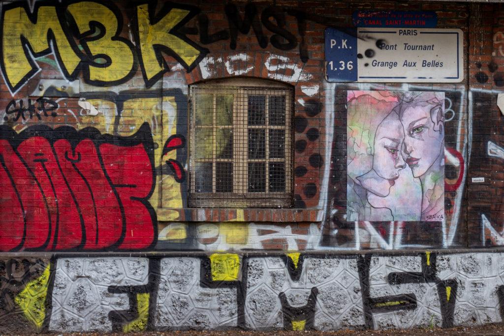 street art in paris - before covid 19